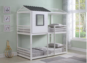 Twin bunk bed (Playhouse Bed)