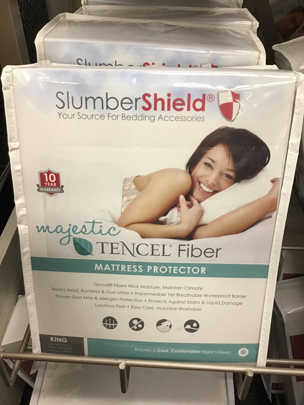 Mattress Protector, King majestic Tercel Fiber (Slumbershield)