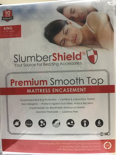 Mattress Encasement, King Slumbershield