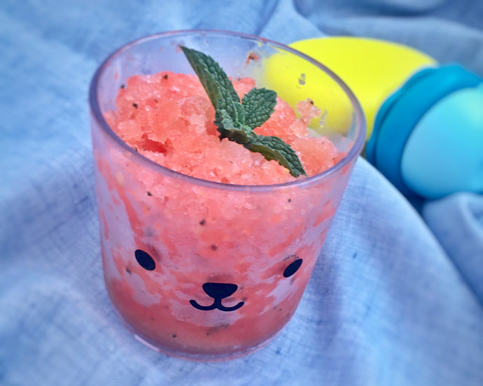 Watermelon and Mint Granita