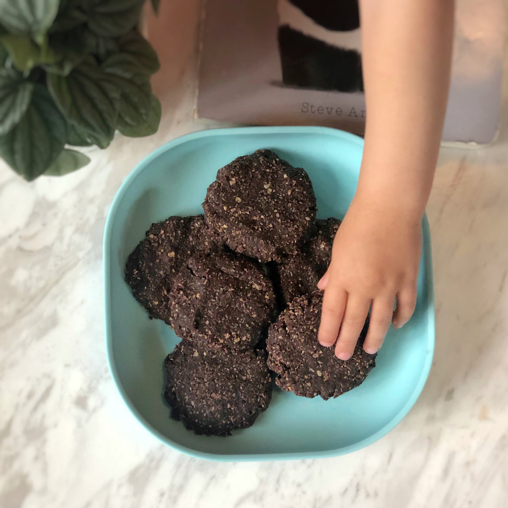 Easy No-Bake Sugar Free Chocolate Cookies