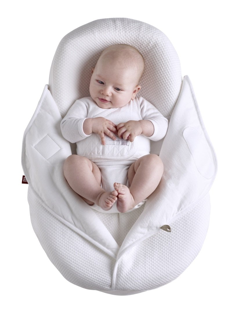 Baby in Cocoonababy with White Cocoonacover open