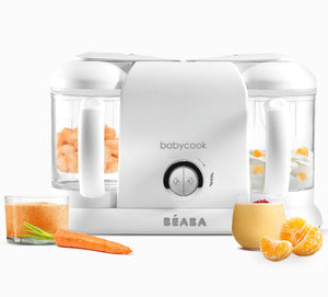 Beaba Babycook Duo White Silver for Baby Food Preparation