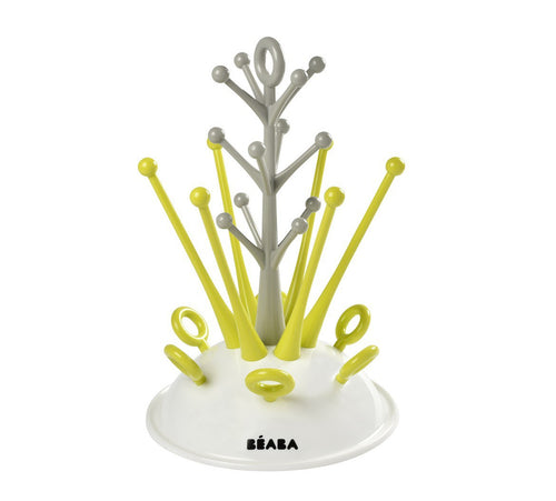 Beaba Tree Draining Rack Neon Green