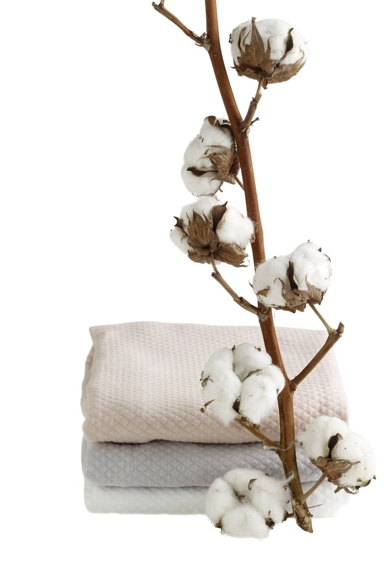 Fitted sheet made in extra soft Fleur de Coton cotton