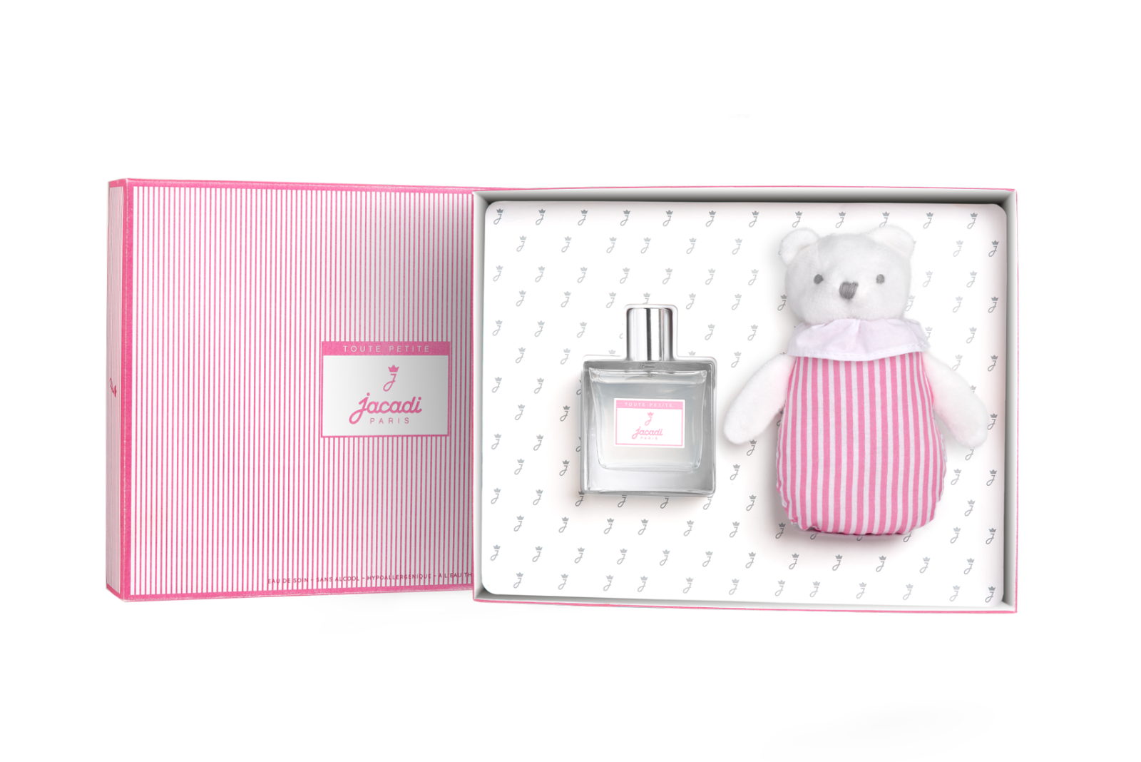 Baby Shower Gift Set in Pink Box