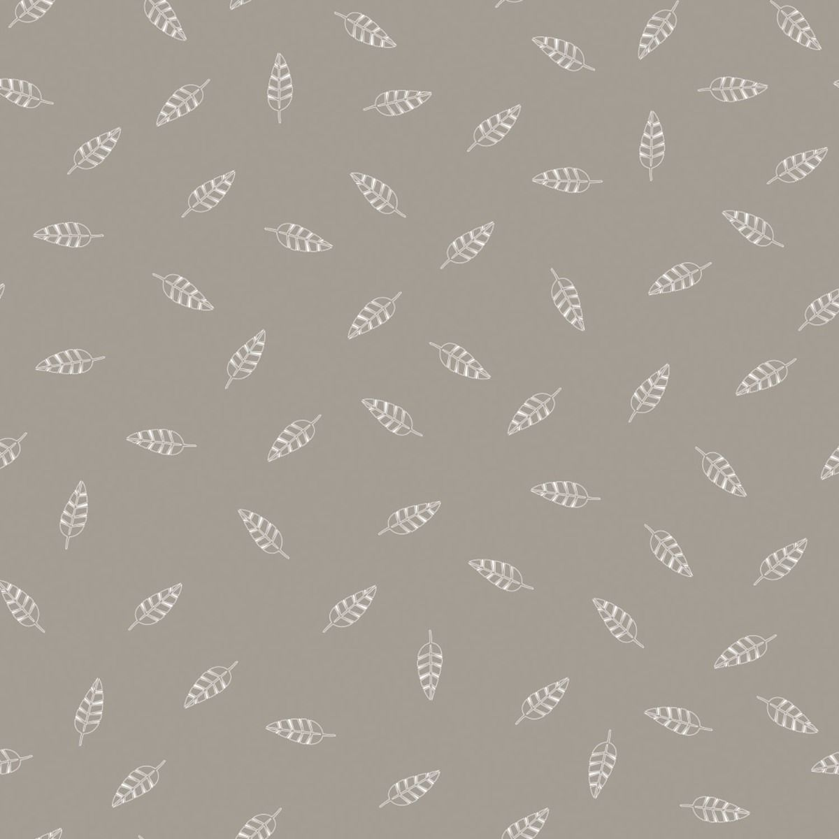 Maternity and nursing pillow - Taupe (leaves print)