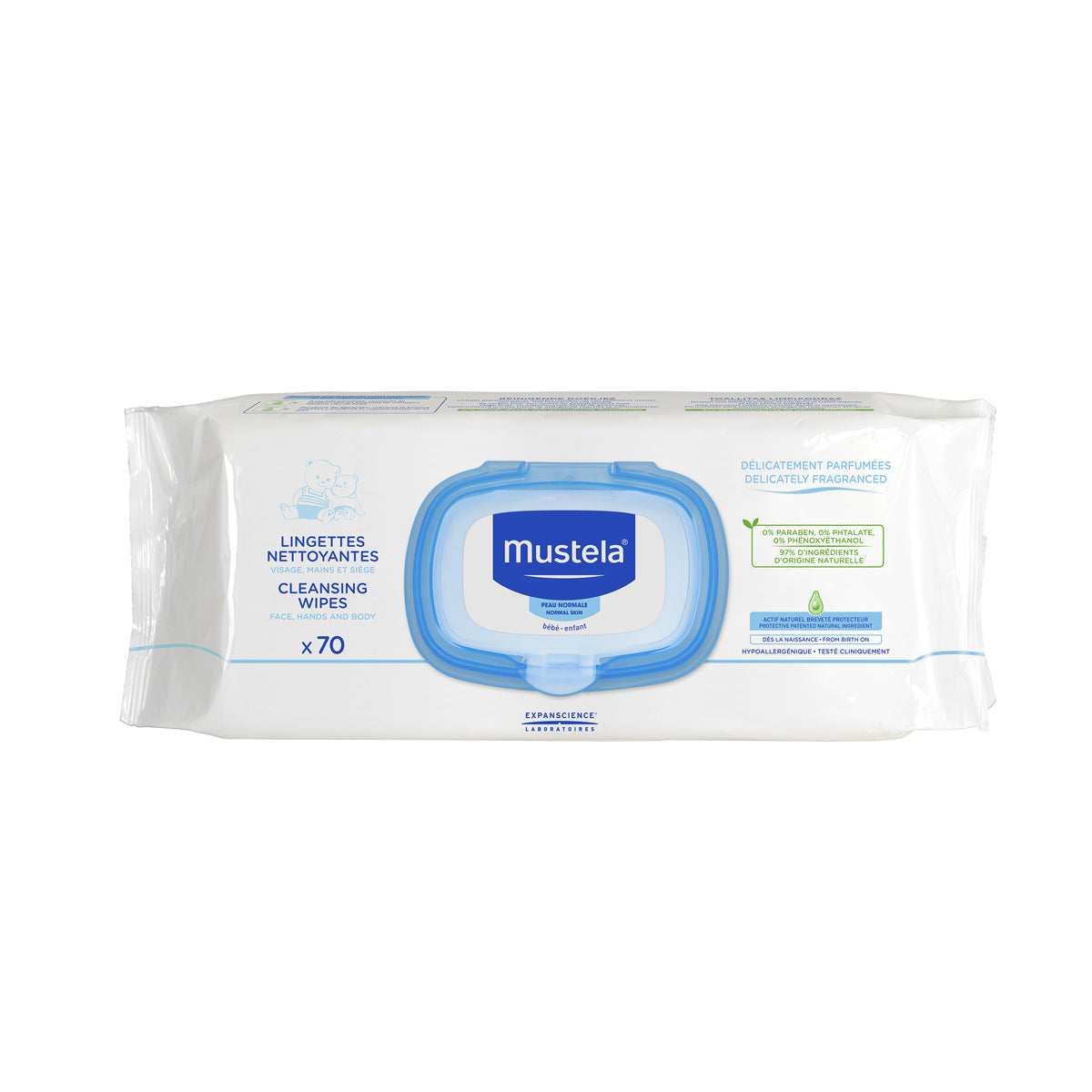 Cleansing Wipes (Pack of 70)