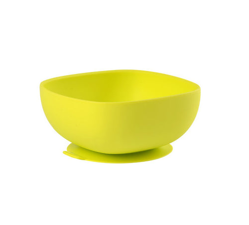 Beaba silicone suction bowl green