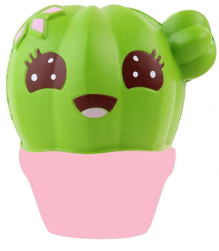 Cute Cream Scented Cactus Squishy