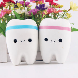 Cute Tooth Squishy