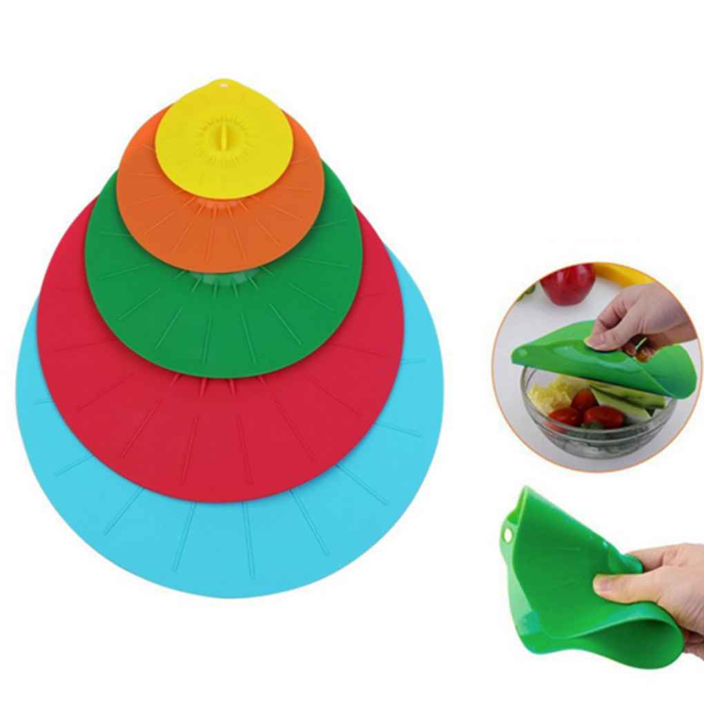 Ultimate Anti-Overflow Leakage Silicone Suction Press  Cap Lid Wrap