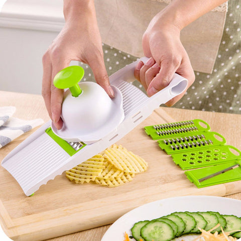 Image of Multi Function Vegetable Slicer & Grater