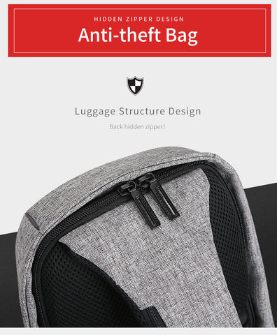 Image of Ultimate Anti-Theft and Water Repellent Shoulder Bag
