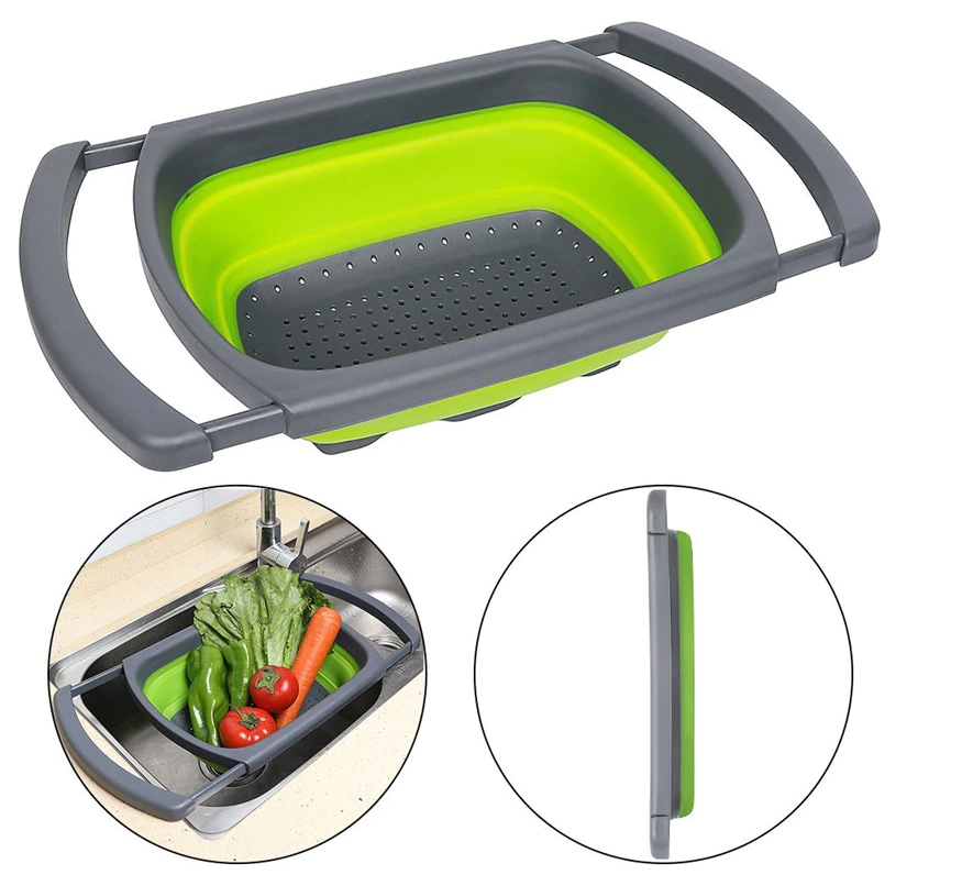 Collapsible Draining Washing Basket