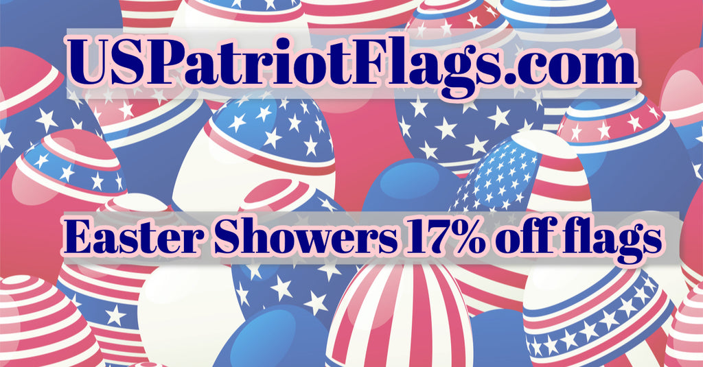 April Showers Flags Discounted at 17%