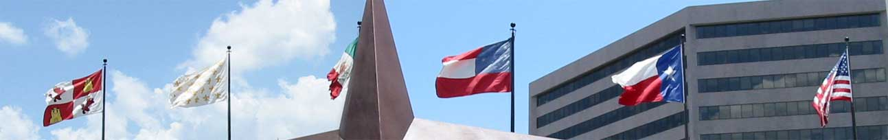 6 Flags of Texas in Austin