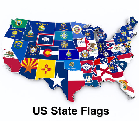 Buy State Flags of the US on sale on