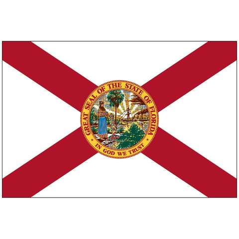 Image of State of Florida Flag Rough Tex