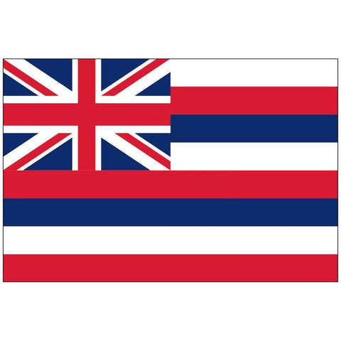 State of Hawaii Flag 3x5 ft Nylon Printed