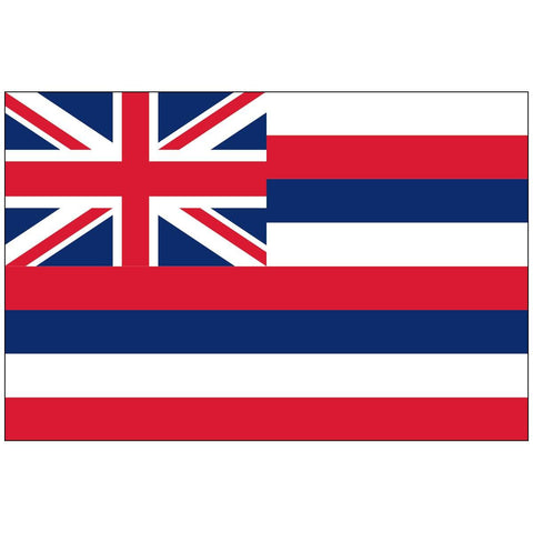 State Of Hawaii Flag 4X6 Ft