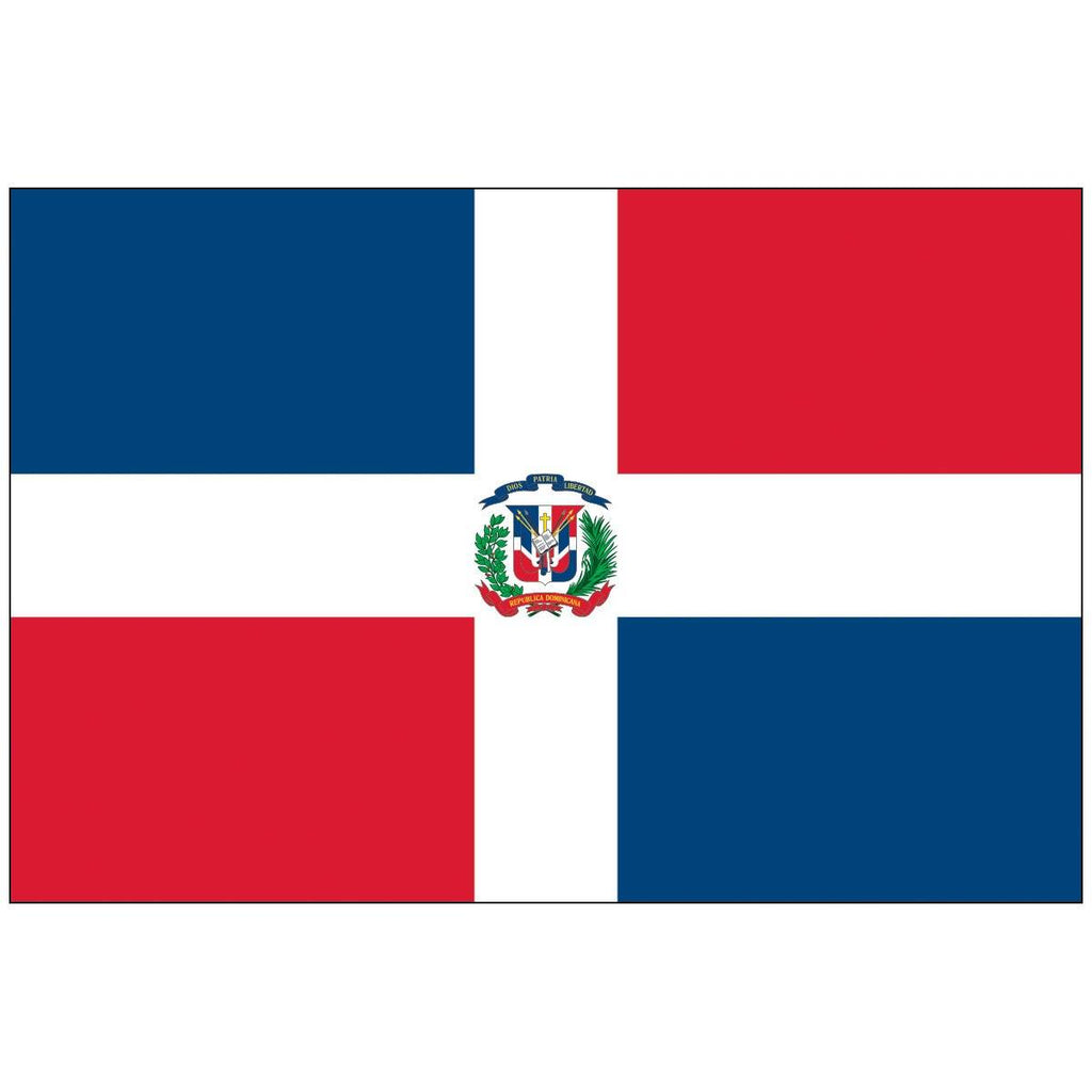 Dominican Republic Flag 3 X 5 Ft. Standard