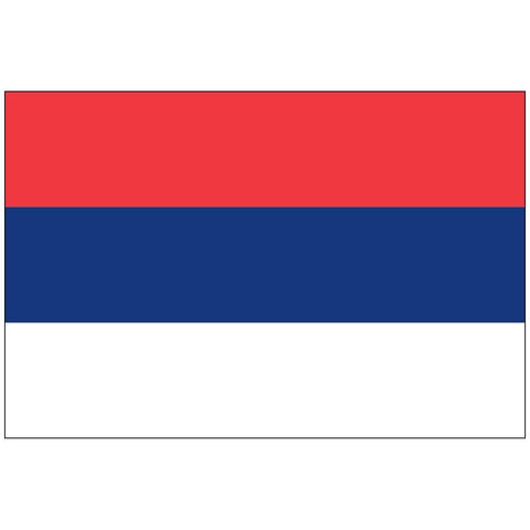 Image of Serbia Flag 3 X 5 ft. Standard
