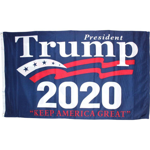 3X5 Ft Double Sided President Trump Keep America Great 2020 Flag Rough Tex