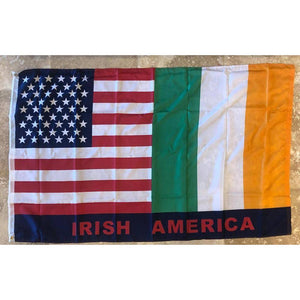 Usa Irish Flag 3 X 5 Ft. Standard
