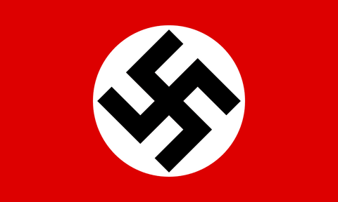 German Nazi Party Flag, Historical NAZI Flag with Swastika 2 X 3 ft. Standard