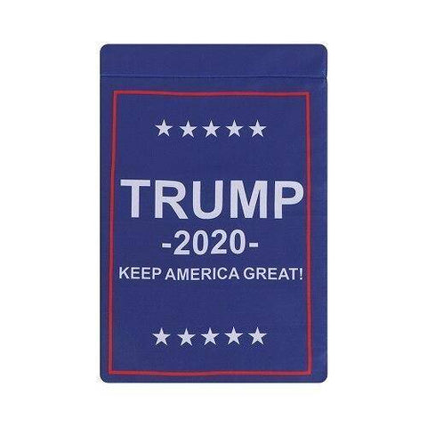 Image of 3 Styles 12X18 Inch Donald Trump Garden Flag B Flags