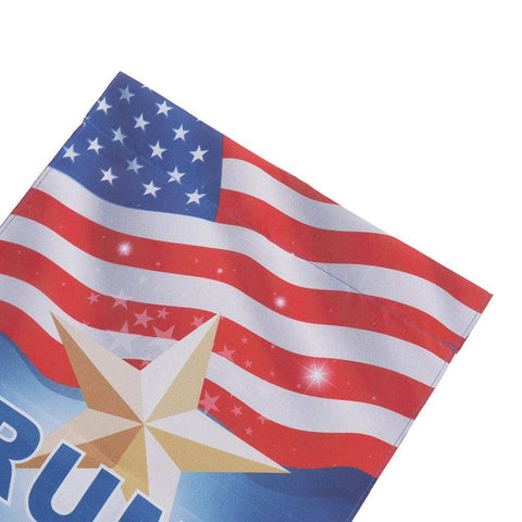 Image of 12X18 Inch Donald Trump Garden Flag Keep America Home &