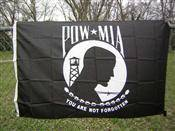 POW MIA Nylon Printed Flag 2 x 3 ft.