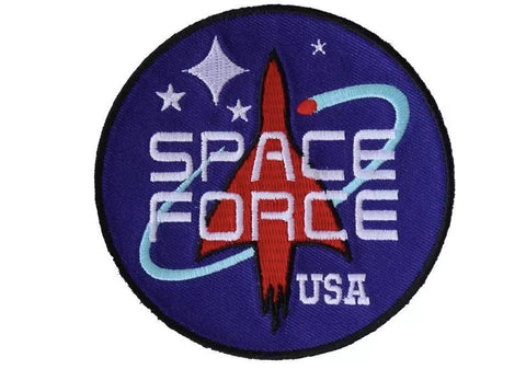 Space Force USA Iron on Patch