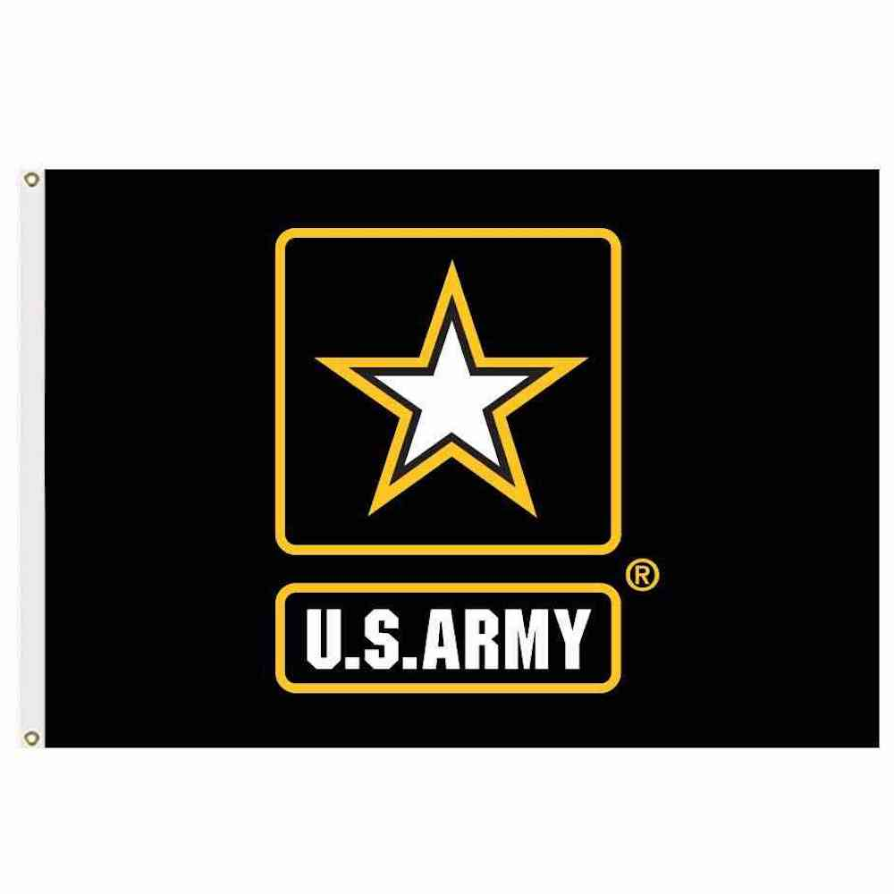 US Army Star Flag 3x5 Economical