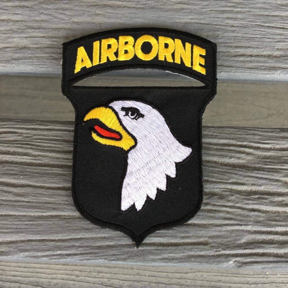 Airborne 2x3 inch- Iron on Patch