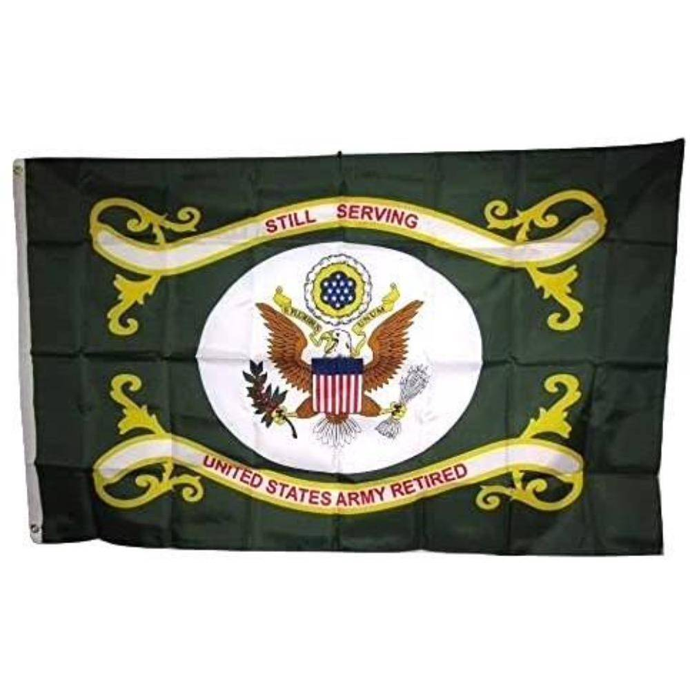U.S. Army Retired Flag 3x5 ft. Economical