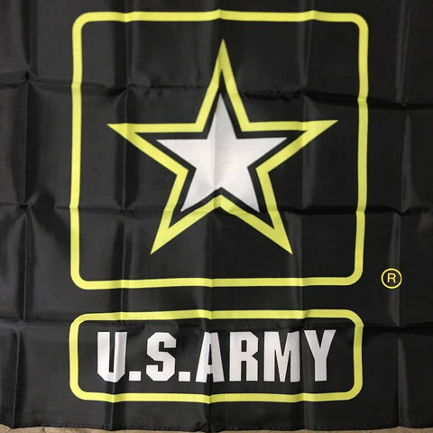 Image of US Army Star Flag - Nylon Printed 3 x 5 ft.