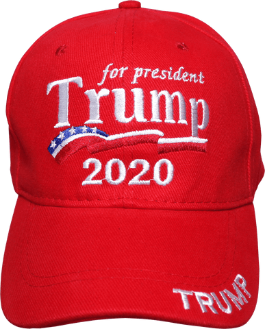 Image of Trump For President 2020 Campaign Cap Hat Red