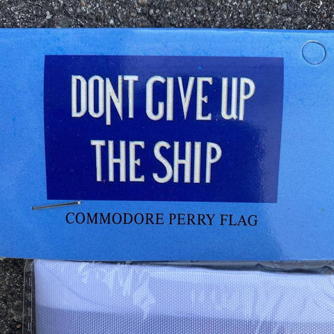 Image of 3x5 ft Commodore Perry Flag, Don't Give Up the Ship Flag