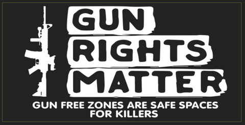 Gun Rights Matter Bumper Sticker
