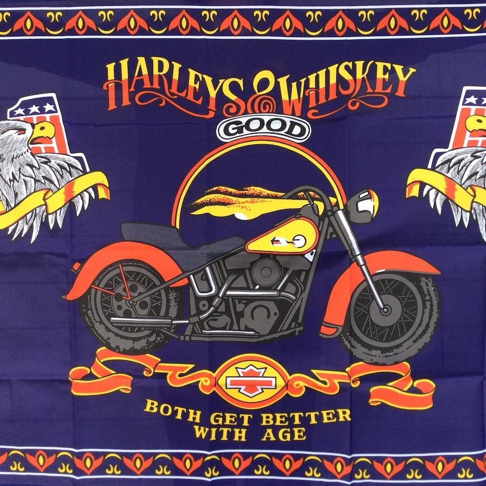 Harleys and Whiskey Flag 3x5 ft. Economical