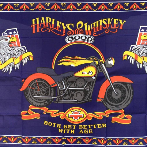 Image of Harleys and Whiskey Flag 3x5 ft. Economical