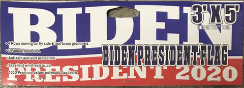 Joe Biden Democratic Party 2020 Presidential Blue Single-Sided Flag 3'x5' economical