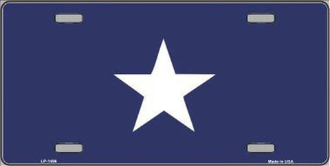 Image of Bonnie Blue License Plate