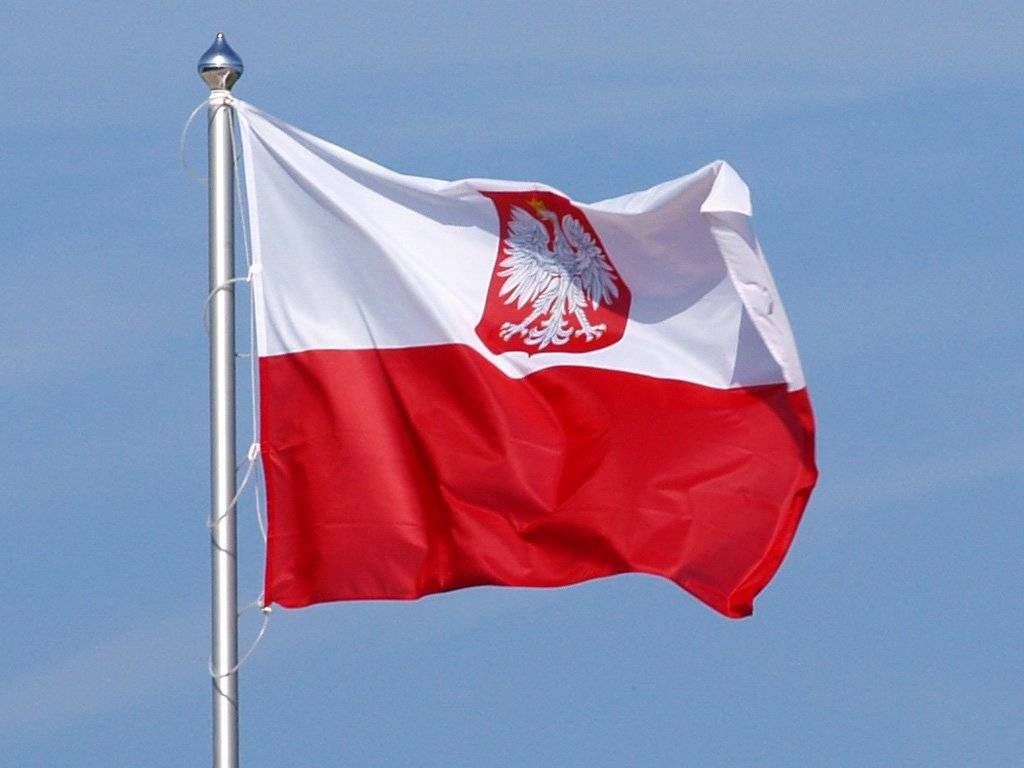 Poland (Old) With Eagle Flag Standard 2X3 3X5