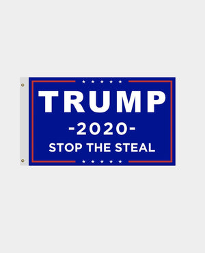 Trump 2020 Flag Stop The Steal  Made in USA