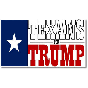 Texans for Trump Flag Made in USA