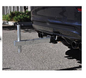 Flag Tow Hitch Pole Holder Bracket