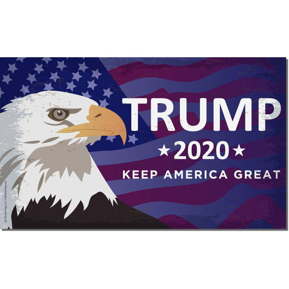 Trump Eagle 2020 Flag Keep America Great Made In Usa